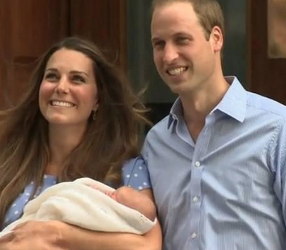 The Royal Baby has arrived!